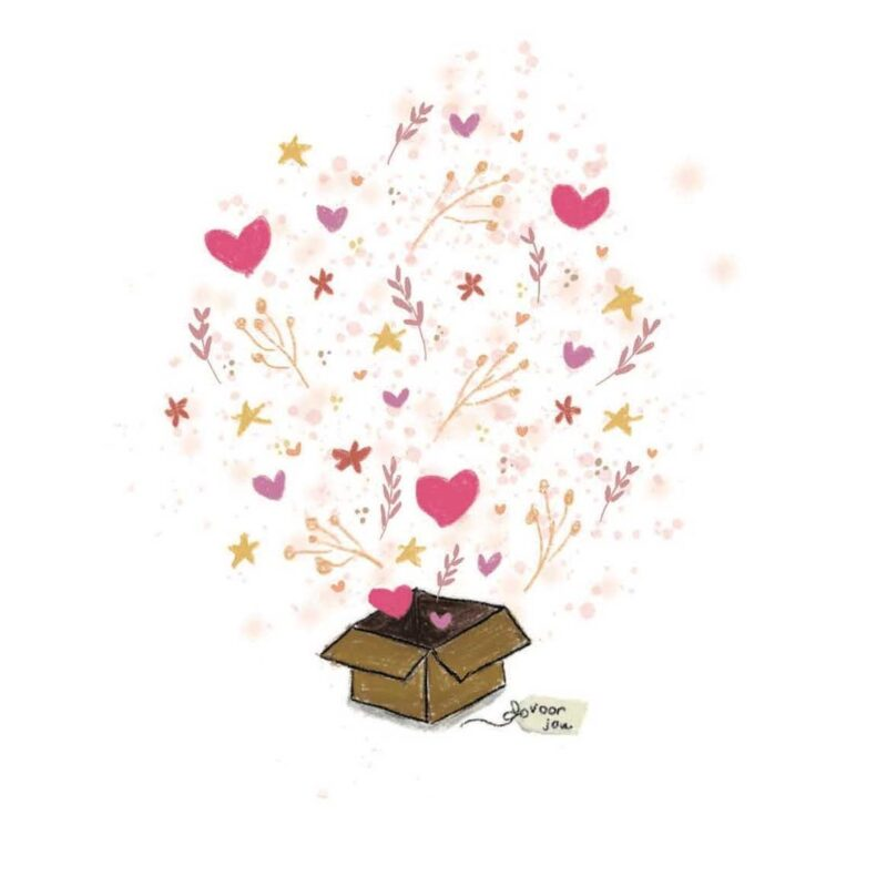 Sending you a box full of love