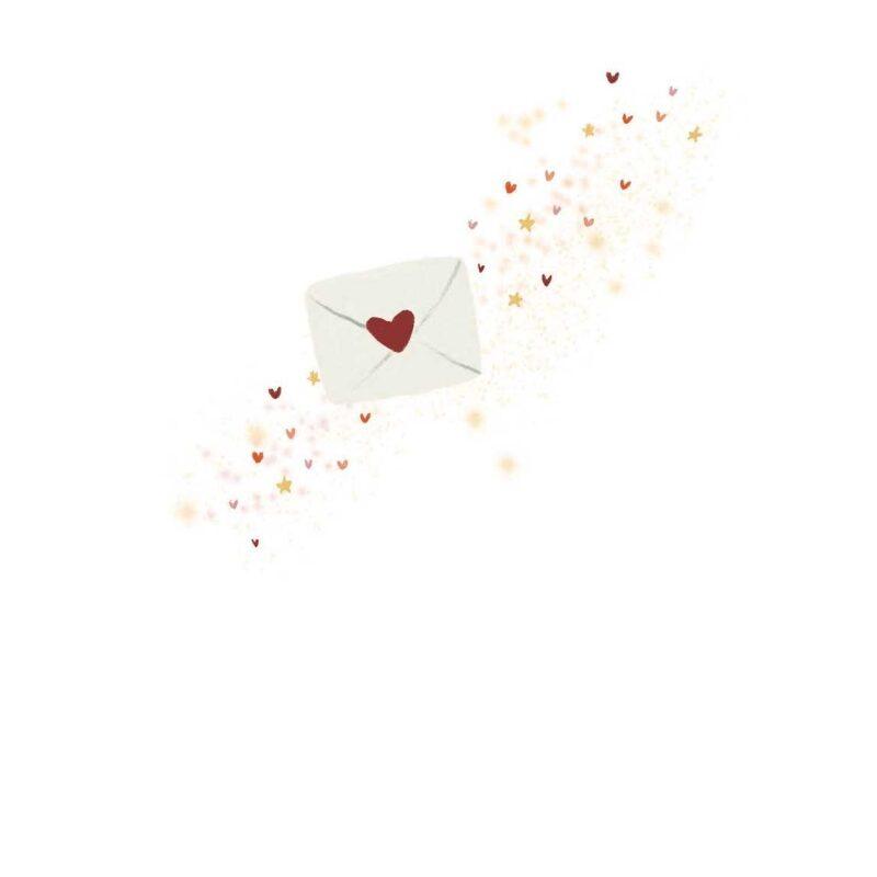 A little bit of love in an envelope