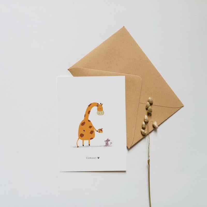 Zomaar – Giraffe en Muis